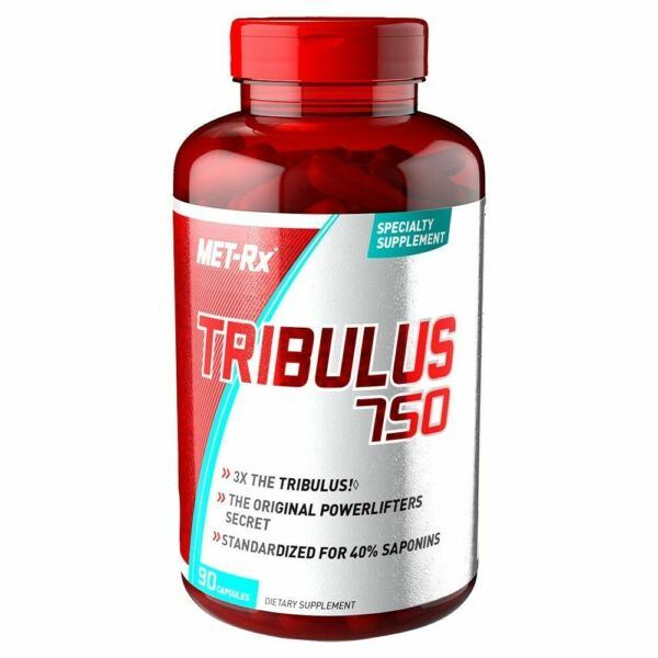 Met Rx TRIBULUS 750 Muscle Builder 40% Saponins 90 Capsules 3x Stronger 12 2022
