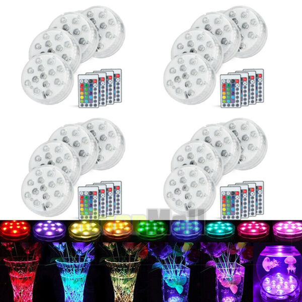 816xRemote Control Color Colored LED Light Boundery Style Waterproof Accent EFX