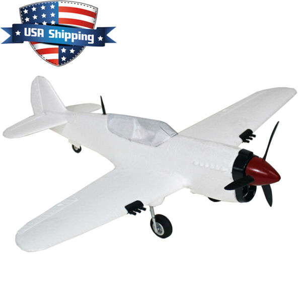 22in Mini Curtiss P-40 Warhawk Warbird Fighter Parkflyer Electric RC Plane Kit