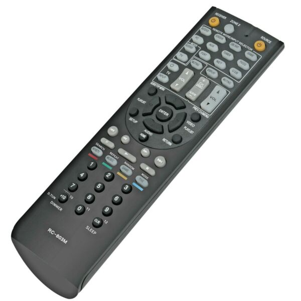 New Remote Control RC-803M Replacement for Onkyo AV Receiver HT-S7409 TX-NR609B