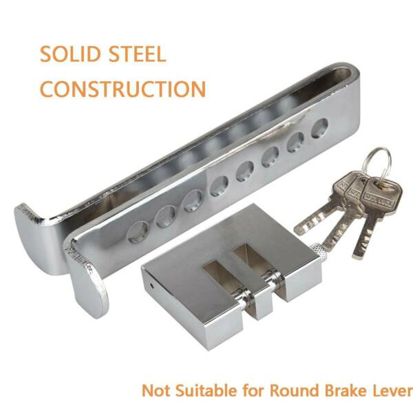 Brake Pedal Lock Security Car Universal Stainless Steel Clutchs Lock Anti-theft