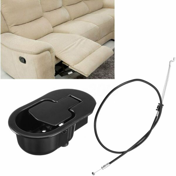 Metal Recliner Handle Release Replacement Chair Lever Trigger Cable Sofa Couch