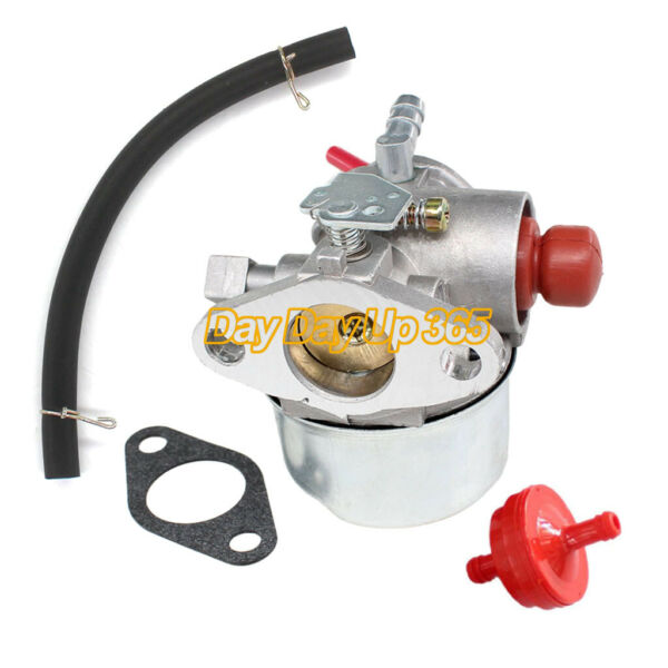 Carburetor Kit for 1990s Ariens 6HP Trimmer Tecumseh Engine Carb Fuel Line Kit