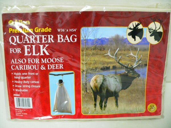 Allen Premium Grade W 36quot; x H 54quot; Quarter Bag For ELK Moose Caribou amp; Deer NEW $16.00