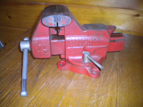 VINTAGE CRAFTSMAN VISE ANVIL 4 12