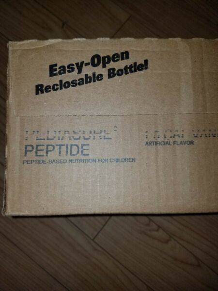 New *Deal* Vanilla Pedia Sure Peptide 1.5  1 Lot = (8 Cases 24 bottles each)
