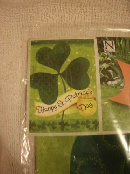 13x18 Double Sided St. Patricks Day Garden Flag