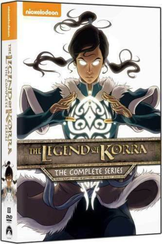 The Legend of Korra: The Complete Series (DVD 2016 8-Disc Set) Books 1-4