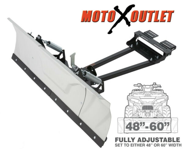 Kolpin Switchblade Atv Snow Plow Adjustable 48quot; 60quot; Blade Complete Kit Universal