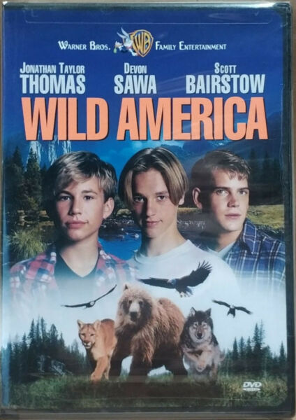 Wild America (DVD 1997) FACTORY SEALED  CHAPTERS INSIDE  RARE