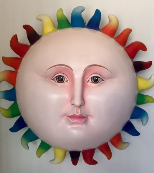 Sergio Bustamante Multi Color Sun Singed & Numbered  By The Artist 1450