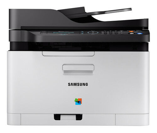 Samsung Xpress SL-C480FW Wireless All in One Color Laser Printer w/ Fax - NEW!