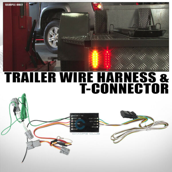 Fit 10 19 Kia Soul 07 12 Rondo Trailer Tow Hitch 4 Way Output Wiring T Connector $38.95