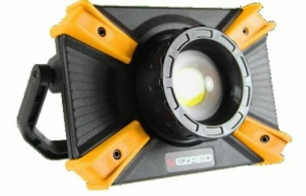 E-Z RED XLF1000-OR Orange Focusing Rechargeable Work Light