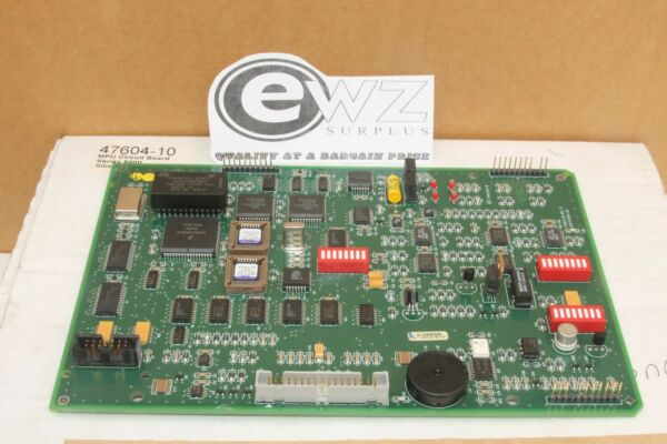 NEW MPU CIRCUIT BOARD ASSEMBLY FOR HACH 5000 SERIES SILICA ANALYZER 47604-10