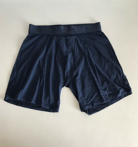 NEW Tommy John Light Air Relaxed Fit Boxer Briefs Dress Blues Small
