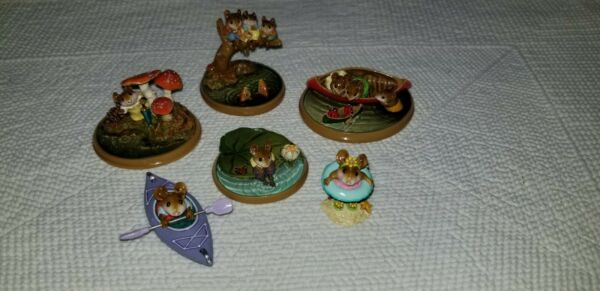 Wee Forest Folk People Water Sports Collection
