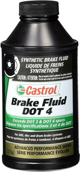 Castrol 12509 Dot 4 Brake Fluid 12 Oz Pack Of (1)