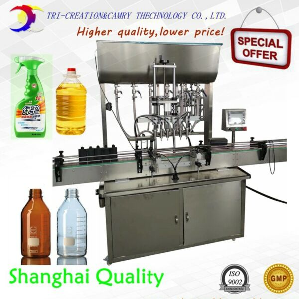 paste filling machine for liquid soap1L 6 nozzlesfilling machine for chemical