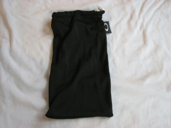 OAKLEY FUEL CELL *LARGE* MICRO FIBER SOFT CLOTH STORAGE CLEANING BAG BLACK NEW $7.19