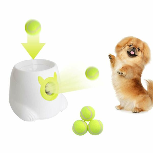 Pet Toys Interactive Ball Launcher Tennis Ball Throwing Machine for Dog Training