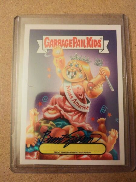 Garbage Pail Kids AAAP Brent Engstrom Auto Autograph 2225