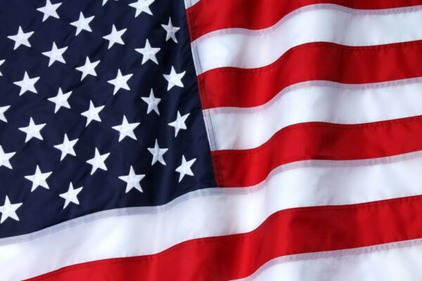 30' X 60' Heavy Duty Outdoor 2-ply Polyester Usa Flag Made In USA