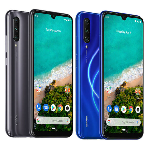 Xiaomi Mi A3 Smartphone 128G/64G 4030mAh AMOLED Display Dual-SIM Global Version