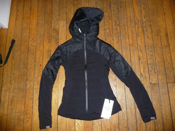 Lululemon DOWN FOR IT ALL JACKET Black sz 4 NWT Runs Small $169.99