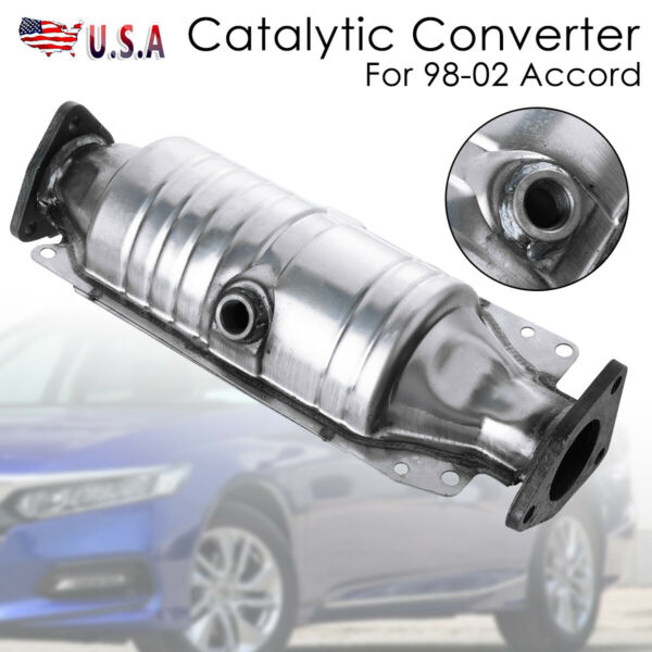 Fits For 98-02 Honda Accord Catalytic Converter Car Rear Exhaust System 2.3L $66.99