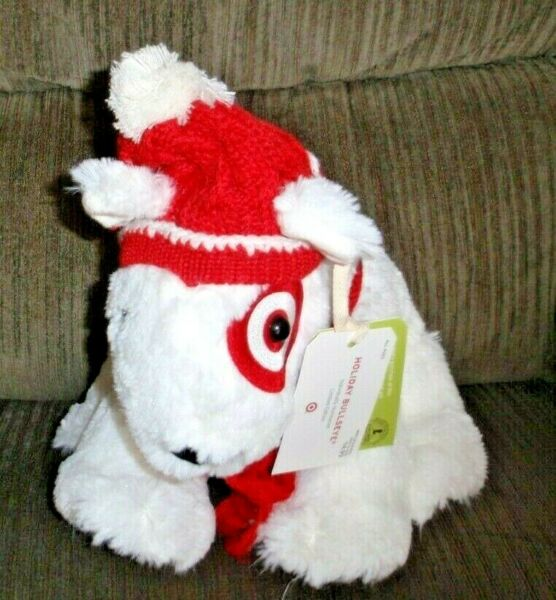 NWT TARGET LIMITED EDITION HOLIDAY BULLEYES DOG ST JUDE#x27;S 2011 HAT amp; SCARF $29.99