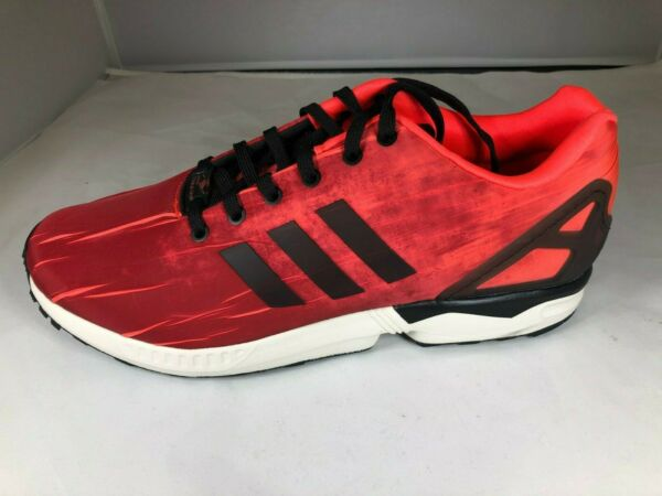 NEW MENS ADIDAS ZX FLUX SNEAKERS Q16516-SHOES-SIZE 12