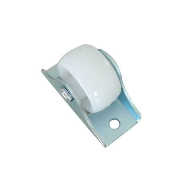 Rail Fixed Casters Small One-Way Wheel Furniture Plastic Directional Wheel New