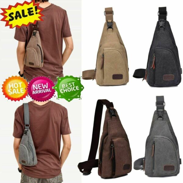 Tactical Outdoor Chest Bag Backpack Shoulder Military Camping Hiking Travel Bags $11.27