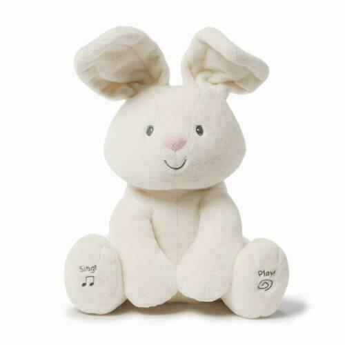 Baby Gund Flora the Bunny Sing & Play Animated Plush Toy New With Tags