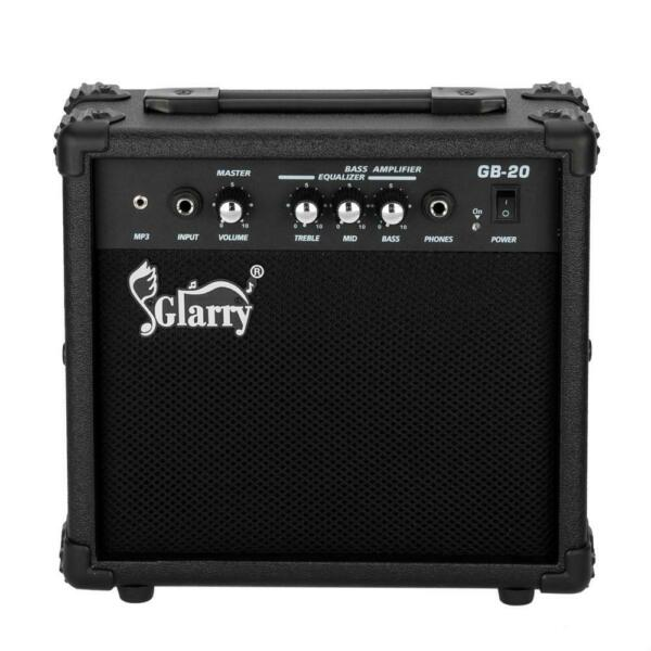 New 10W Amplifier Portable Bass Amp for Bass Guitar Powerful Sound