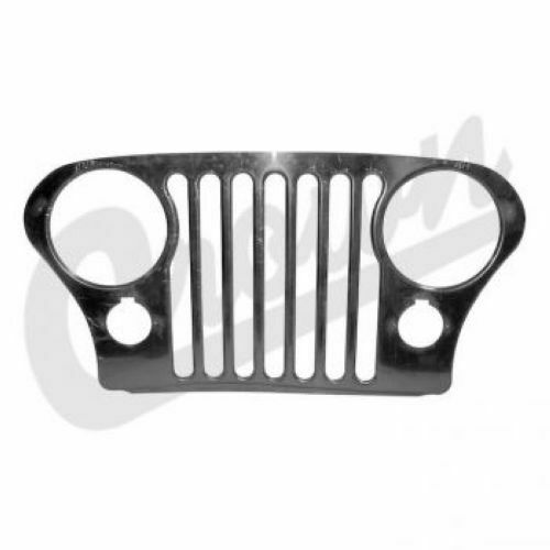 Crown Automotive RT34086 Grille Overlay Stainless For Jeep CJ 5 CJ 7 CJ 8 76 86