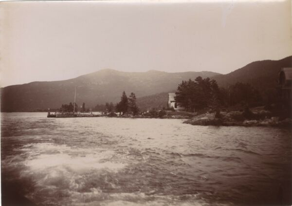 Lake George Adirondacks New York USA Snapshot Voyage 1896 Vintage
