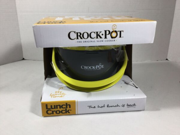 Crock Pot Lunch Crock Slow Cooker Meal Food Warmer Portable Kitchen 20 Oz