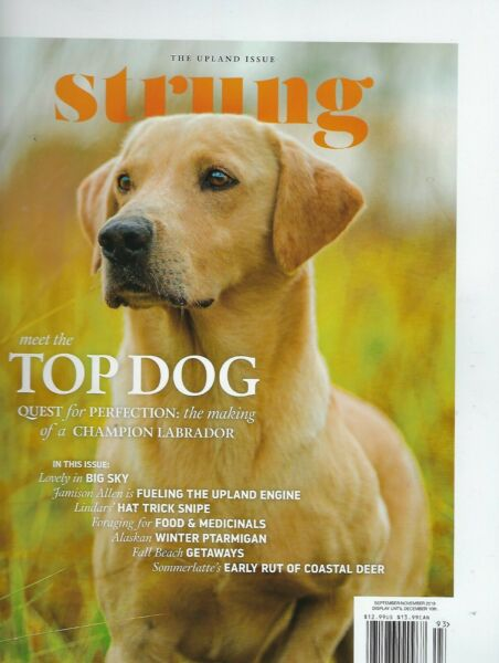Strung September November 2019 Top Dog $8.99