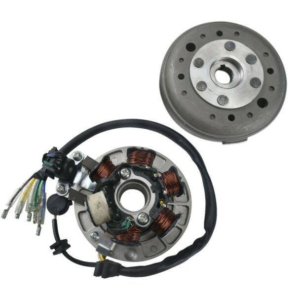 6 Coil Ignition Magneto Stator Flywheel for Lifan Dirt Pit Bike 110cc 140cc 125 $47.79