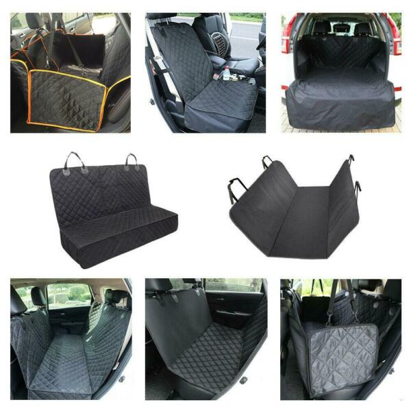 Multi type Waterproof Dog Car Seat Cover Hammock Pet SUV Van Rear Bench Pad New $17.99