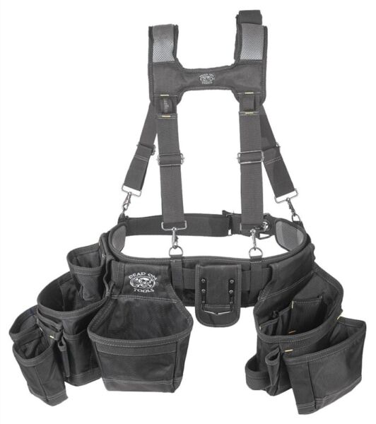 NEW Dead On HDP369857 Pro Framers Suspension Rig Black TOOL APRON 9584475