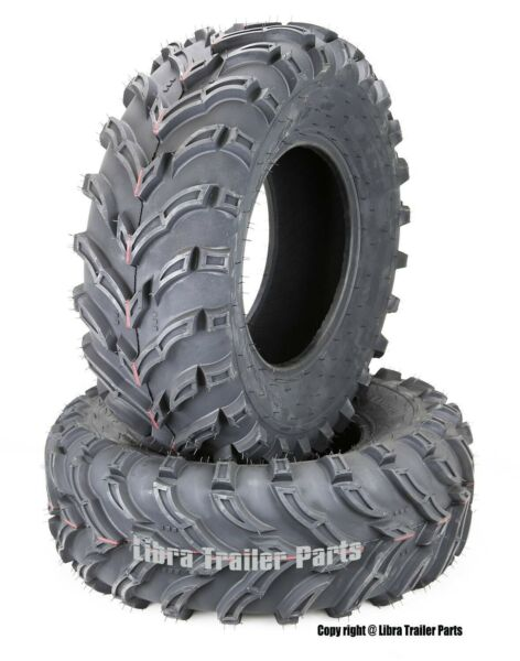 2 New ATVUTV Tires 25x8-12 25X8X12 6PR 10272