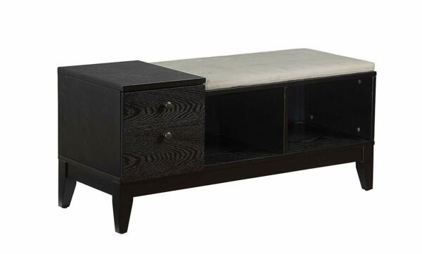 ACME Furniture Boyet Black Bench with Storage