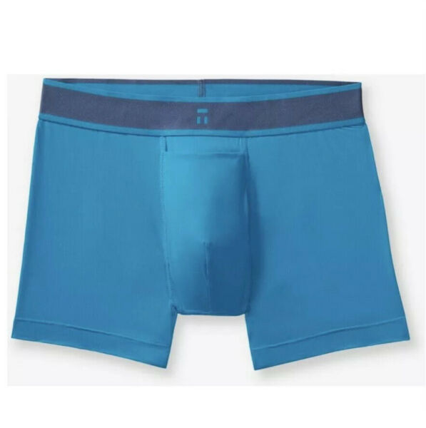 NEW Tommy John Light Air Icon Trunks Turquoise Blue Small