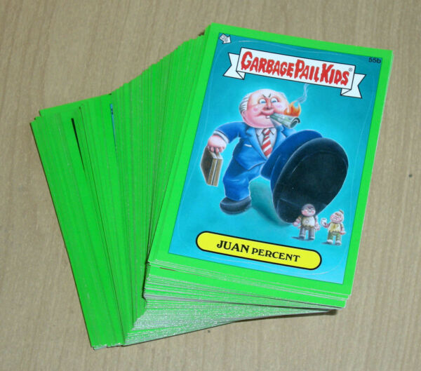 2012 Topps Garbage Pail Kids GPK Brand New Series 1 BNS1 GREEN 110-card set