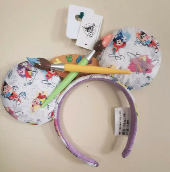 Disney New Ink and Paint Minnie Mouse Ears 2020