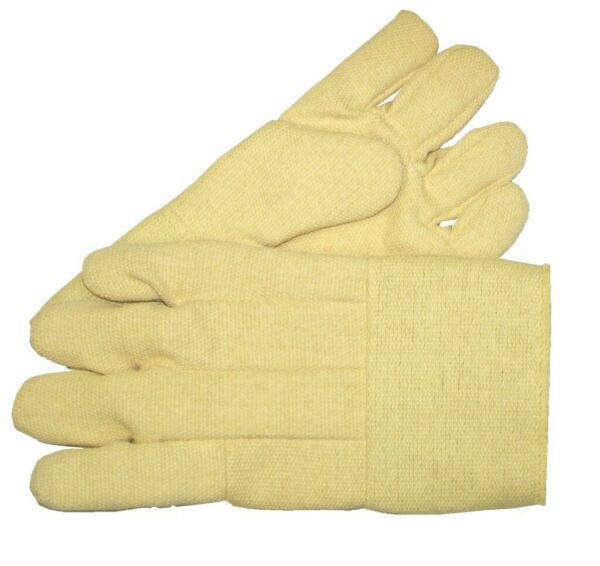 MADE WITH KEVLAR HIGH HEAT RESISTANT GLOVES FURNACE 14quot; PAIR MELTING WELDING $51.75