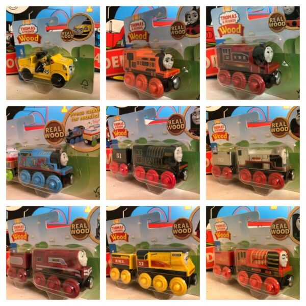 Caitlin Ace Yong Bao Birthday Rosie Hiro Nia THOMAS & FRIENDS TRAIN RAILWAY WOOD